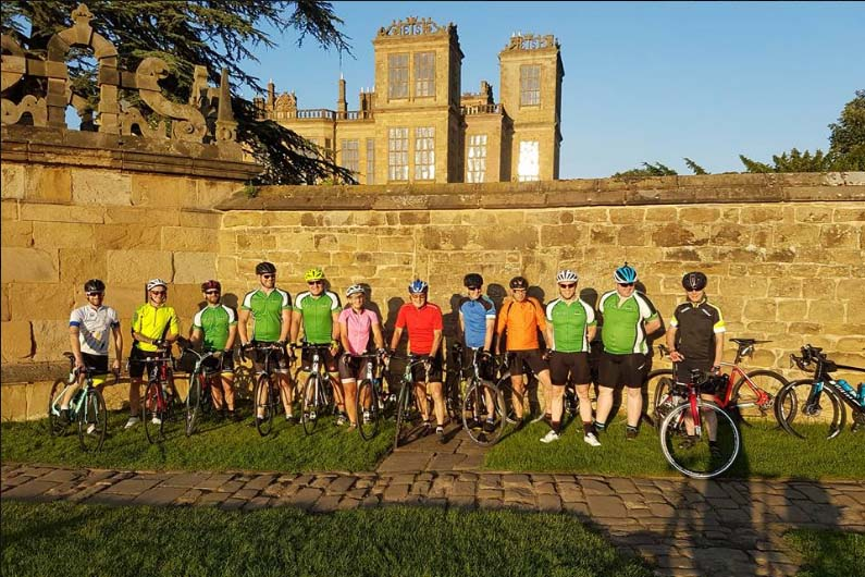 JE James Ride - Hardwick Hall